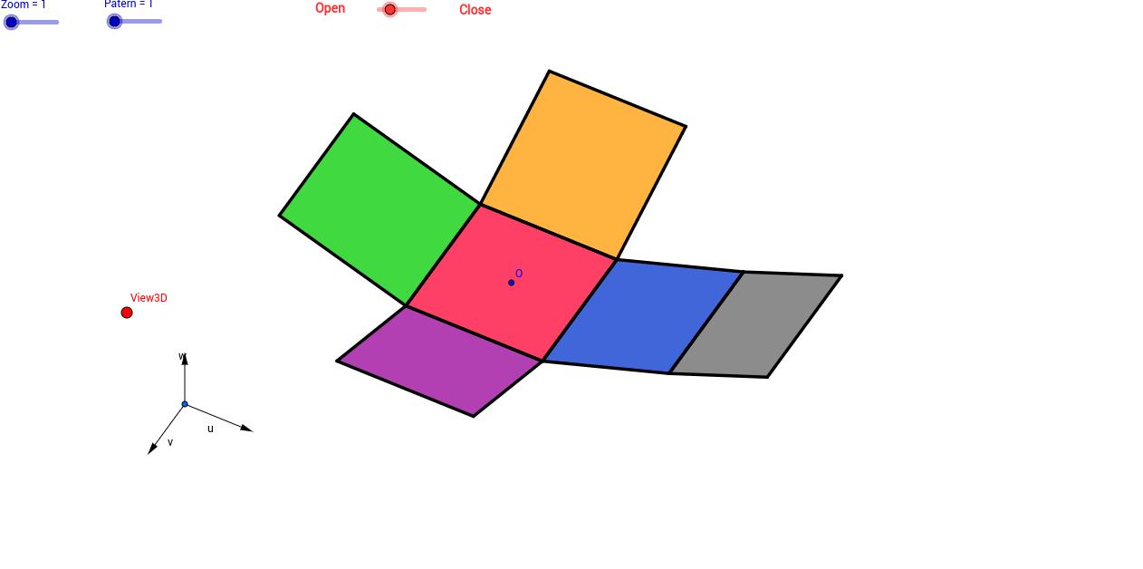 Los 11 desarrollos del cubo