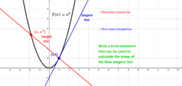 How a Secant Becomes a Tangent, part 1