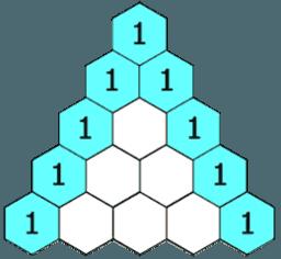 Costruzione del triangolo di Tartaglia