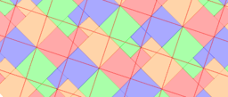 Pythagorean Theorem by Tessellation # 11 Tiling