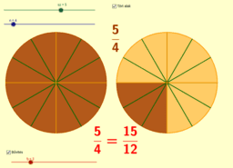 Törtek bővítése (Expanding fractions)