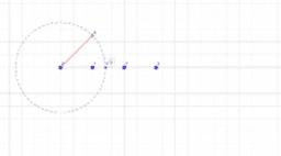 Posizione della radice quadrata di 2 sulla semiretta