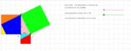 Deducción del teorema de pitágoras