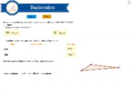 Baricentro en coordenadas
