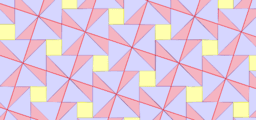 Pythagorean Theorem by Tessellation # 14 Tiling
