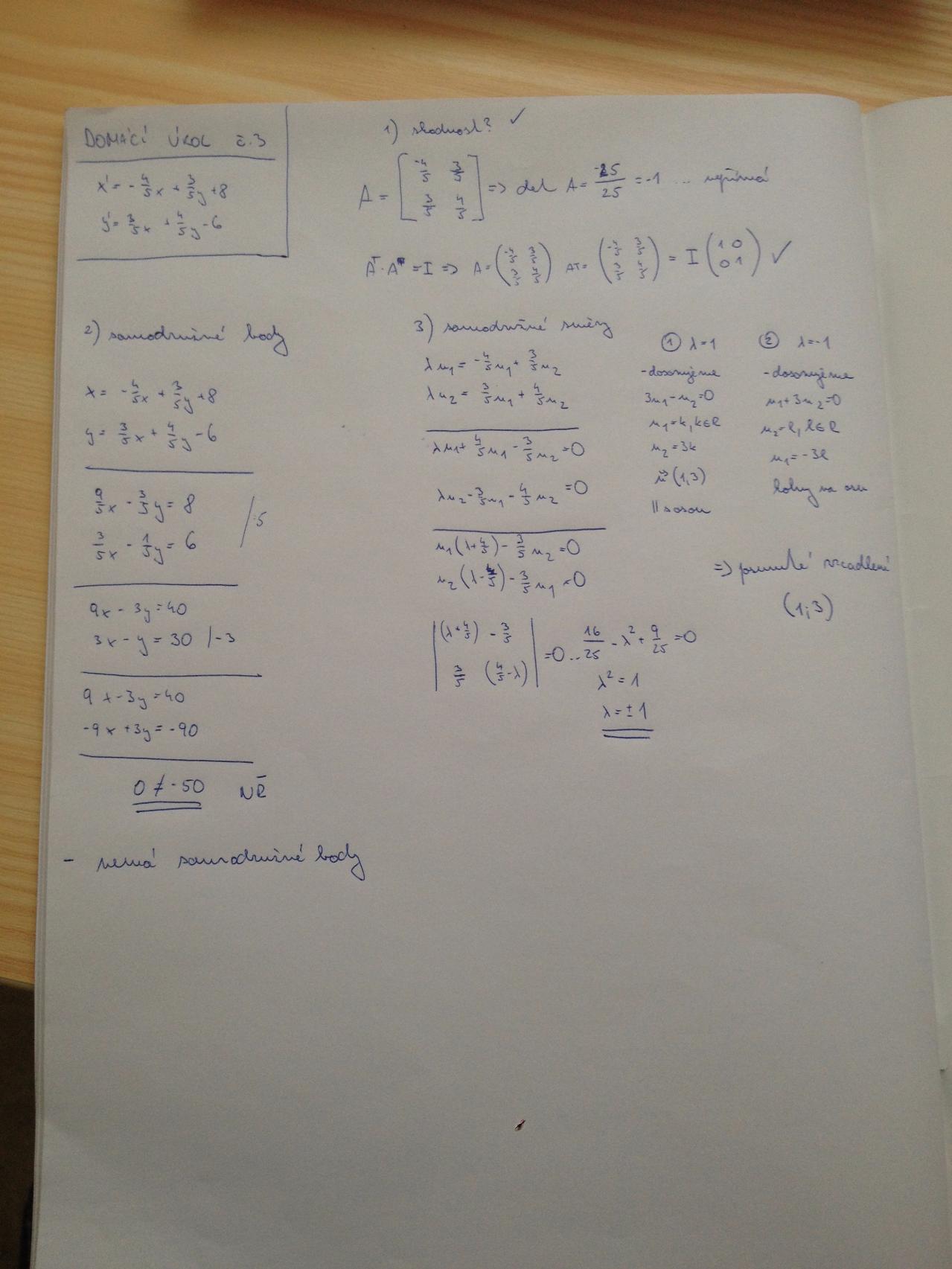Domácí úkol č. 3