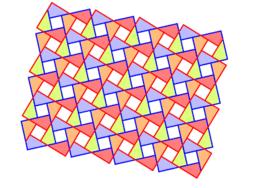 Pythagorean Tessellation # 91 Tiling
