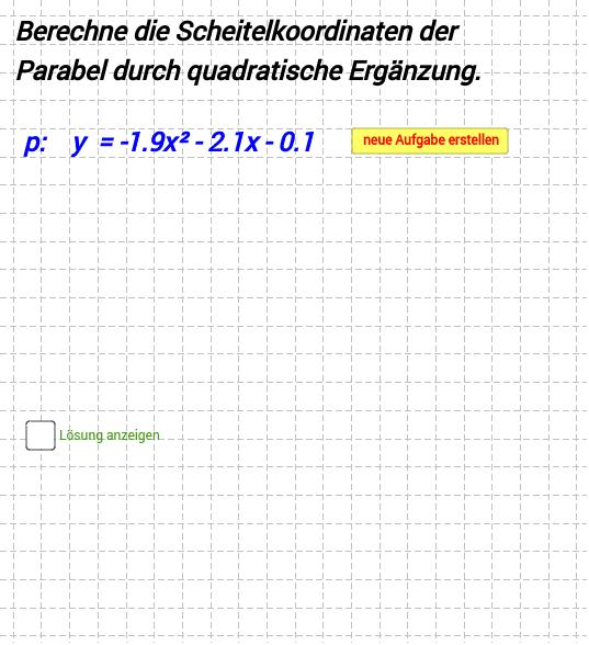 M 9I Lernbereich 7 quadratische Funktionen