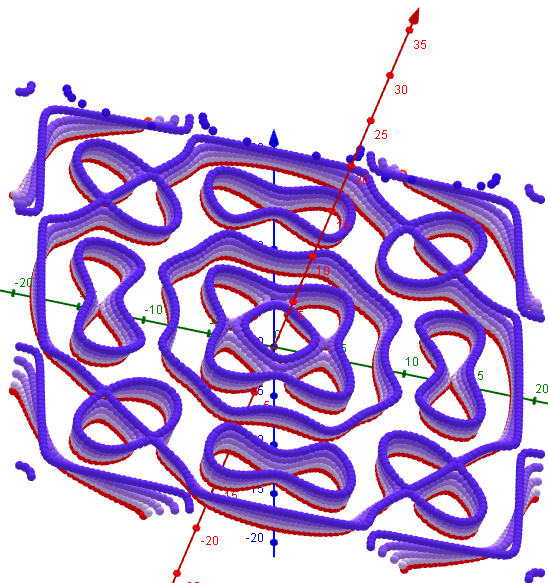 Chladni Figuren- 1 2 6, s=1, L=20   46-50