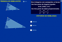 Triángulos semejantes (4º ESO)