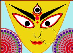 Durga Devi Portrait