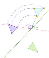 Composició de gir i simetria axial