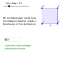 Rechteck & Quadrat