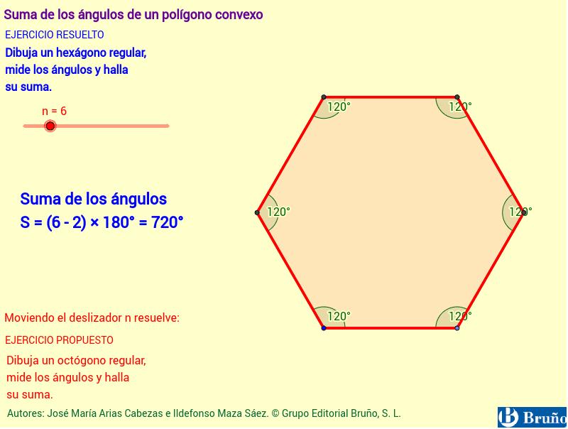 Aquí les comparto un ejemplo de polígono convexo