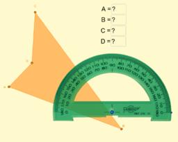 Mesurant angles d'un quadrilàter