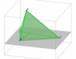 Buscando la Recta de Euler en un tetraedro