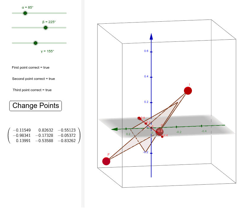 Finding the rotation matrix for a rigid body rotation (SVD