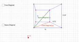 Space Diagonals