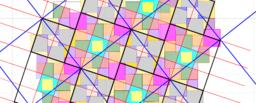 Pythagorean Tessellation # 21 - Mega-Annarizi Tiling