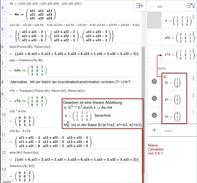 Beispiel-Aufgabe zur Anwendung der Notation