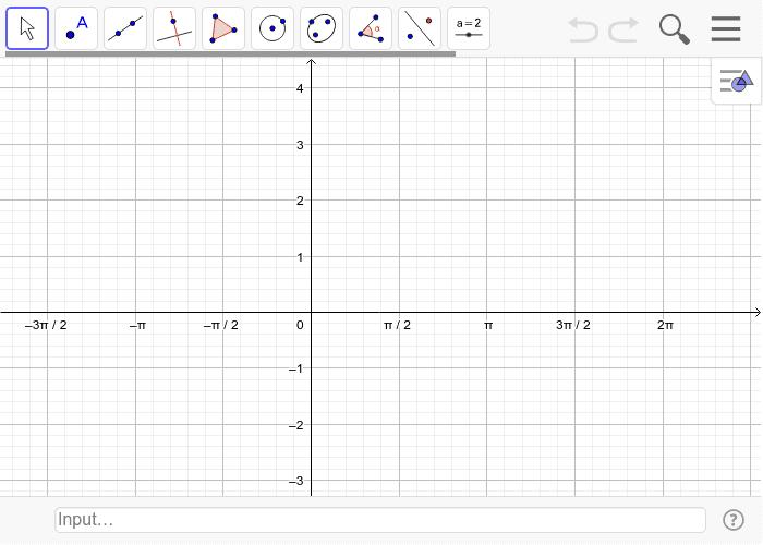 10. Lösen trigonmetrischer Gleichungen graphisch. Lösen Sie die Gleichung 3 sin(2(x-1))+2=0 durch zeichnen