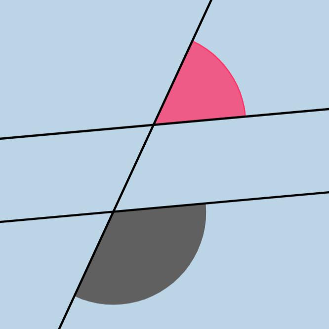 Same Side Exterior Angles Theorem