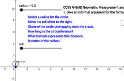 Circumference and Diameter of a Circle