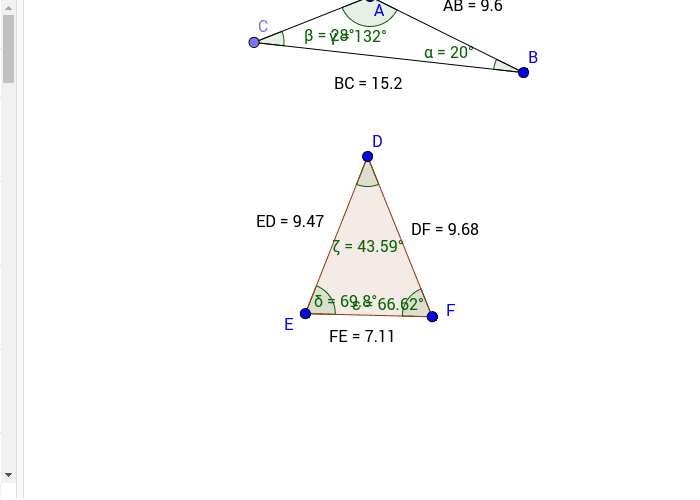 6.5 Inequalities in Triangles  Press Enter to start activity