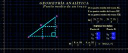 Geometría analítica ( punto medio 1 )
