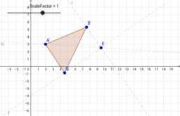 Slide 1: Triangle Dilation