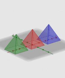 Pyramid and Cube