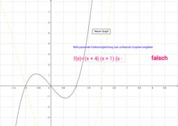 Graphen von Kubischen Funktionen - 2. Übung