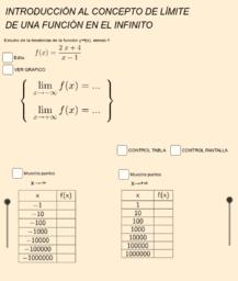 Copia de LÍMITE DE UNA FUNCIÓN EN EL INFINITO