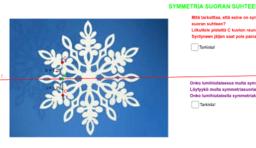 Symmetrinen lumihiutale, tehtävä 9.2