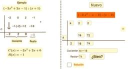 División de polinomios: Ruffini.