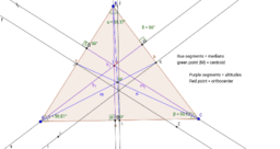 Medians, Centroid, Altitudes, and Orthocenter