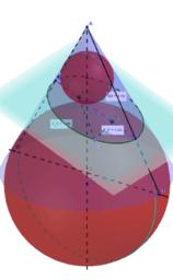 Dandelinov teorem za elipsu