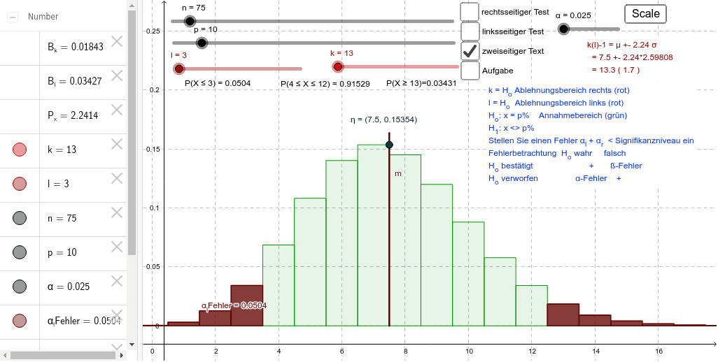 Binomialverteilung Press Enter to start activity