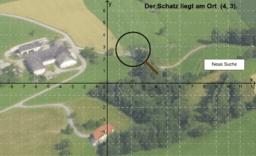 Schatzsuche im Koordinatensystem