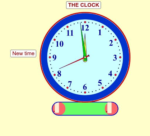 Clock Face Fraction Geogebra