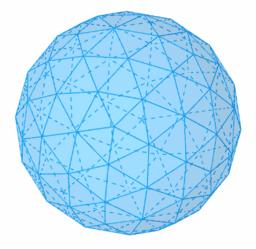 Esfera geodèsica - Icosaedre