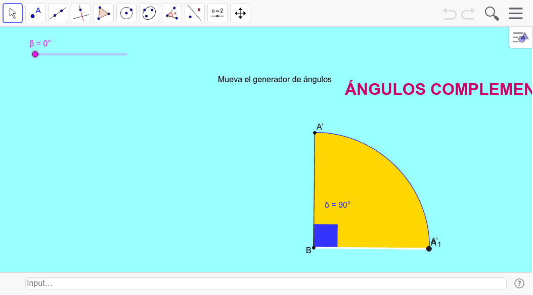GENERADOR DE ÁNGULOS COMPLEMENTARIOS