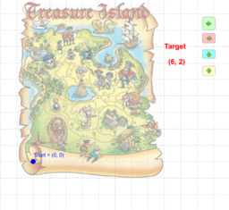 Treasure Hunt Coordinates