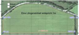 Größe eines Feldes
