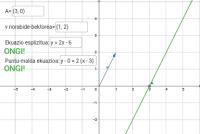 Ariketa ekuazio esplizitua eta puntu-malda ekuazioa