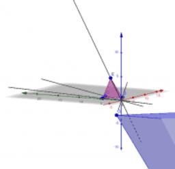 F3 相似の中心・相似の位置(三角錐)