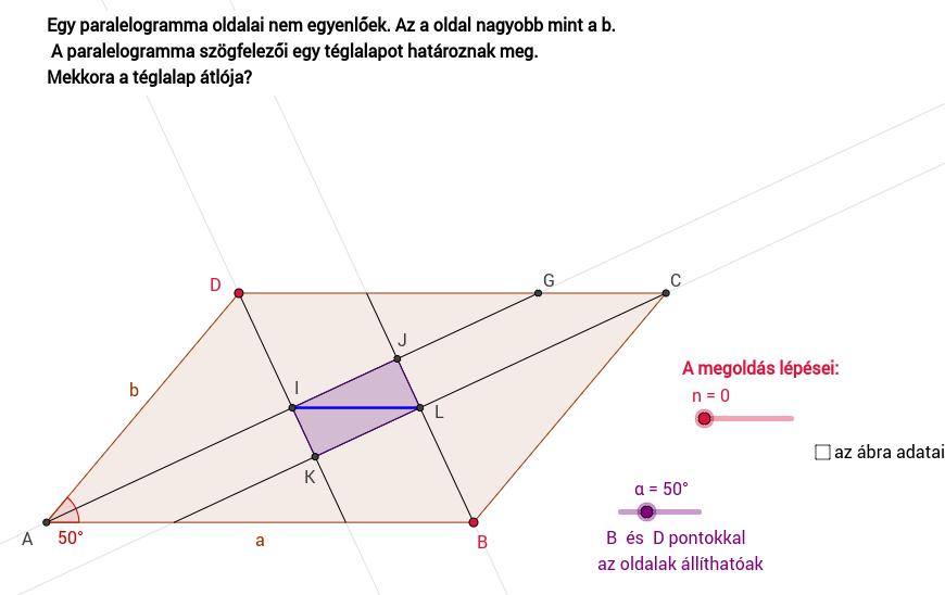 Paralelogramma szögfelezői