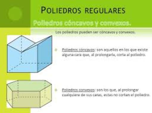 Poliedros cóncavos y convexos