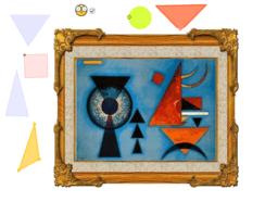 Coloca las figuras Kandinsky