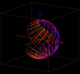 spherical string art